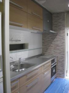 キッチン施工写真