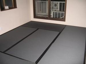カラー畳(黒)