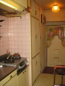 キッチン工事前写真