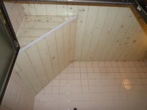 斜め天井施工前