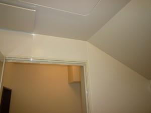 斜め天井施工後1