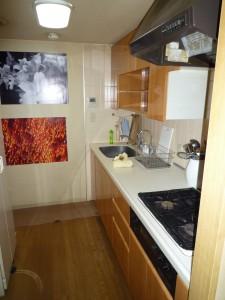 施工前のキッチンの写真