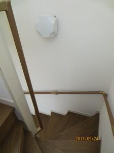 階段手すり廻り部分