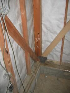 耐震補強 柱脚及び筋かい金物