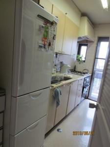 H邸キッチン既存