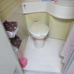 工事前トイレ部分