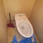 リフレシュトイレ工事中