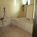 既存在来の浴室