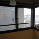 L型の出窓の内窓