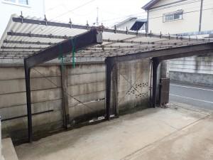 既存施工前の写真1