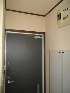 取替前の玄関ドア