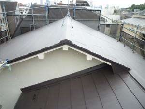 施工後写真 金属屋根