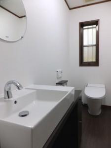 手洗いトイレ