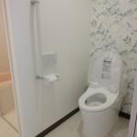 施工後トイレ