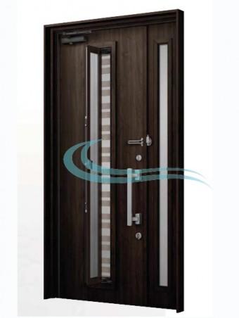 2世帯戸建て 玄関ドアのリフォーム
