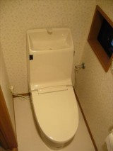 戸建てトイレ2ヶ所のリフォーム