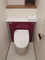 トイレのうしろがスッキリ LIXILリフォレにお取替え