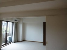 壁面収納でお部屋がひろびろ