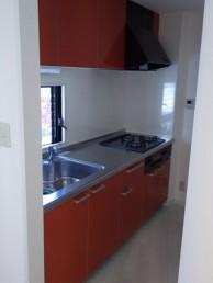 賃貸物件のキッチンをリフォーム