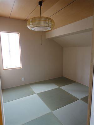 和室を寝室&ウォークインクローゼットにリフォーム