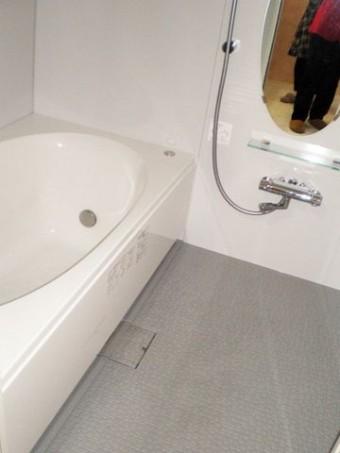 広くなった浴槽
