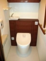 収納型トイレへのリフォーム