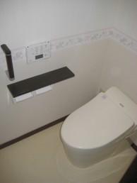 タンクレストイレで、エコロジー!