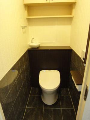 リフォームで海外風トイレへ