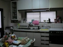 明るく開放的なキッチンへ