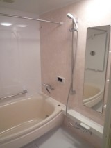 お孫さんと一緒に入る広々浴室