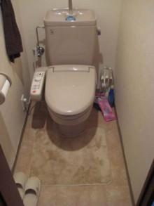 とってもチャーミングなトイレに