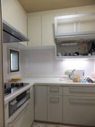 L型キッチンのクラッソで機能性アップ