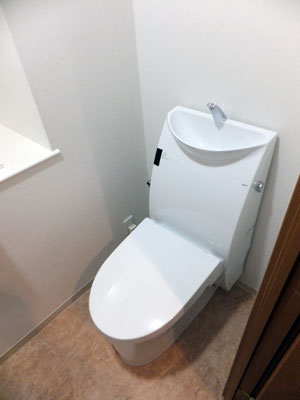 プラズマクラスター付きアステオリトイレAR7に交換