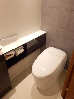 洗練された上質なトイレ空間に