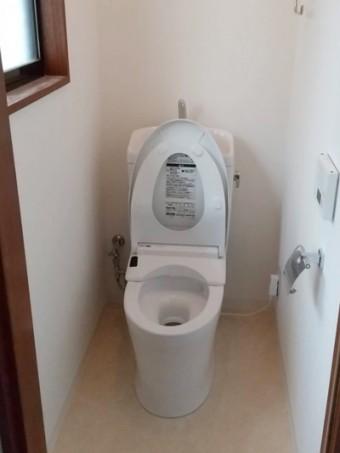 和式トイレから洋式トイレに