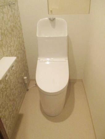 手洗いしやすい深型ボウル TOTO GG-800にお取替え