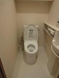 トイレを最新設備に