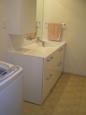 今以上に使い勝手の良い洗面台を