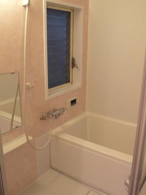 シンプルな浴室へのリフォーム