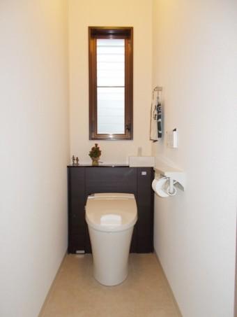 すっきりと使いやすいトイレに