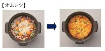 スイングオーブン調理例①