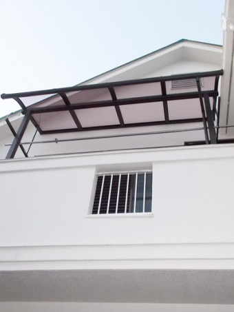 テラス屋根取付工事