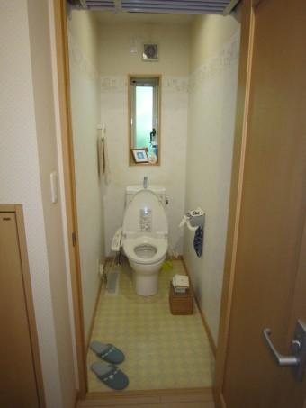 トイレBefor