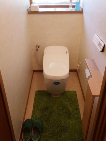 LIXILおすすめNo.1トイレ!サティスGタイプにお取替え  世田谷区 K様邸