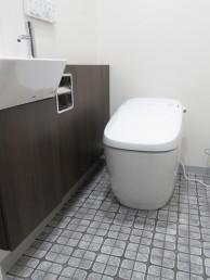 LIXIL サティスGタイプ&ストレート型手洗器にお取替え