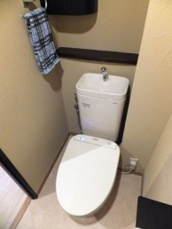 トイレがディズニーの空間に