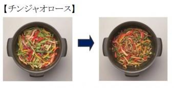 スイングオーブン調理例②