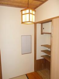 和室の壁をカルクウォールで塗り替え