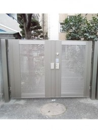 LIXIL エルネクスM-YK型で門扉のお取替え