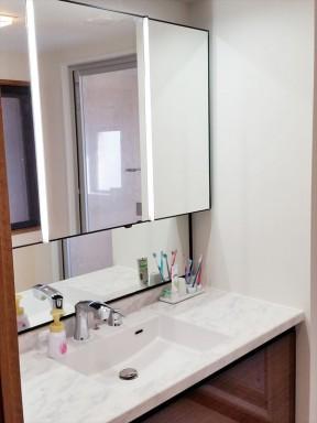 LIXILルミシスでハイグレードな洗面化粧台に